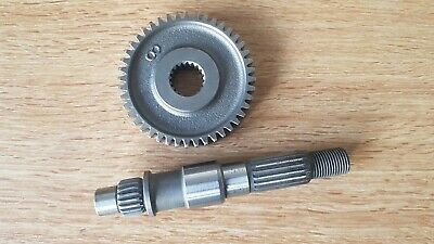 CPI 50cc 1E40QMB  Rear drive output shaft and Gear