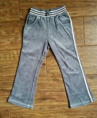 Cherokee (Tesco) Grey/Pink Trousers (Aged 5 - 6 years) - Very Good Condition