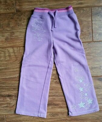 Adams Lilac & Pink Star Patterned Trousers ( Aged 5 years) - Very Good Condition