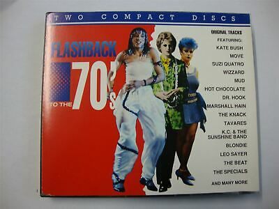 Flashback to Seventies - 2 x CD set Greatest Hits Of The 1970s