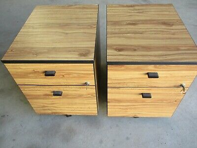 2 Drawer Small Filing Cabinets Qty 2 Available
