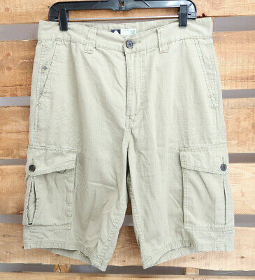 db40c01a01 LRG Lifted Research Group Classic C47 Fit Mens Shorts Cargo Khaki Cotton  Size 32