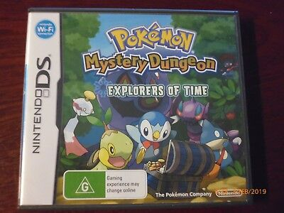 Pokemon Mystery Dungeon - Explorers of Time -  G-DS -Incl Booklet-Free Post
