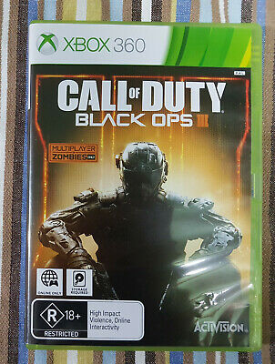 Call of Duty: Black Ops III 3 (Microsoft Xbox 360, 2015) AUS PAL