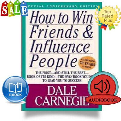 How To Win Friend And Influence People - Ebook Pdf & 7.5 Hours Audio Mp3