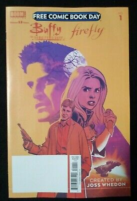Buffy the Vampire Slayer Firefly FCBD 2019 Free Comic Book Day VF/NM Joss Whedon