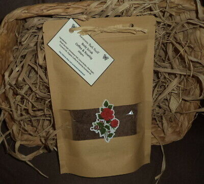 ORGANIC COFFEE & ROSEHIP BODY SCRUB  100% NATURAL 200gms