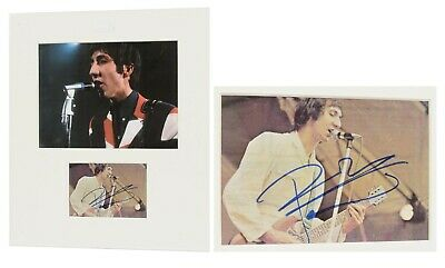 """The Who - Pete Townsend signed Display - 15.5"""" x 13.25"""""""