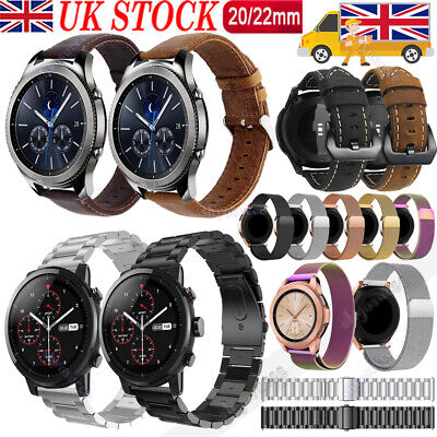 Stainless Steel/Leather Watch Band Strap For Huawei GT Active/Elegant/2Pro 22/20