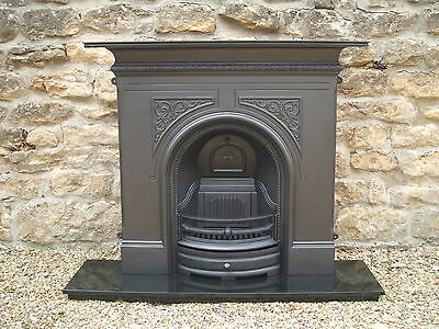 Brand New Gallery PEMBROKE solid fuel cast iron fireplace.
