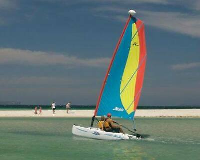 Hobie Bravo Sail Boat w road licensed trailer/s Exe Cond (repl. cost $8,852)