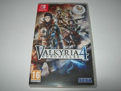Nintendo Switch : VALKYRIA CHRONICLES 4 - Box ONLY!!! No Game!!!