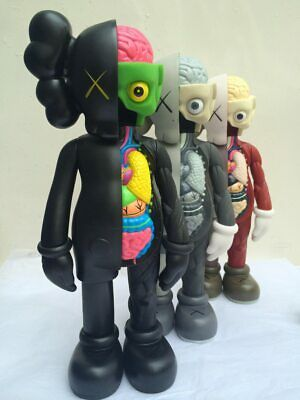33cm Kaws Dissected Companion Original Fake Action Figure Collectible Model Toys