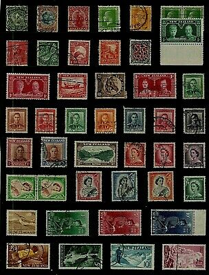 NEW ZEALAND Stamp Collection INCLUDING Early Issues, & QEII HIGH Values REF:QP74