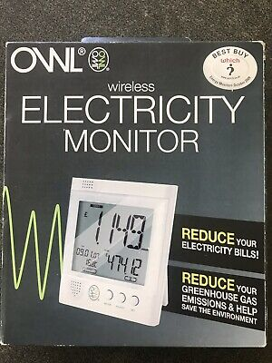 OWL Electricity Monitor usage set wireless for home/business new boxed/sealed