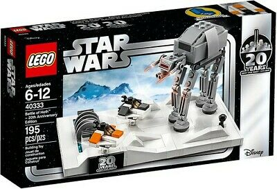 LEGO Star Wars 40333 Battle of Hoth – 20th Anniversary Edition EXCLUSIVE Disney