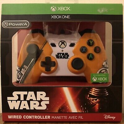 PowerA Official Xbox One License Controller ~ STAR WARS BB-8 BB8 Disney ~ NEW