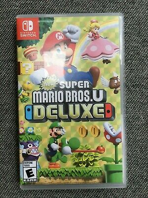 Super Mario Bros. U Deluxe (Nintendo Switch, 2019)