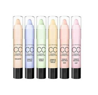 Max Factor CC Colour Corrector Sticks --Choose shade---