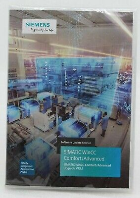 Siemens SIMATIC WinCC Comfort/Advanced Software Update Service Upgrade V15.1 NEU