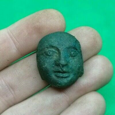 Ancient Celtic Druids  Bronze House God Idol - 200 Bc - Rare