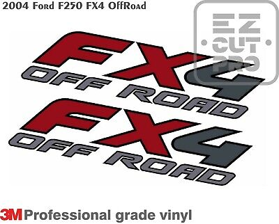 side bed fender set of 2 2003 Ford F150 FX4 Off Road Decal Truck Sticker F