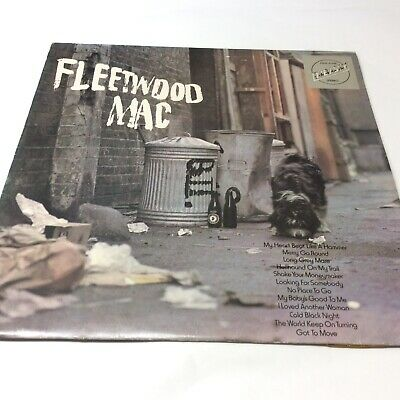 Peter Green's Fleetwood Mac Embassy 1973 Vinyl LP VG+/EX Very Nice Clean Copy