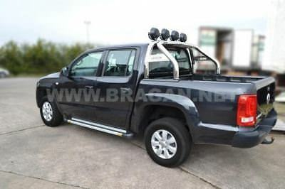 Isuzu D Max Rodeo Sport Roll Bar Polished Stainless Steel Rollbar To Fit 2016