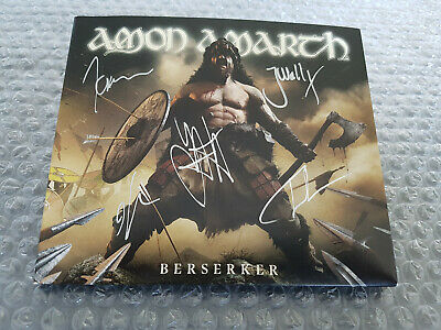 AMON AMARTH: Berserker SINGED DIGI-CD ULTRARARE Death Maiden Priest Vikings
