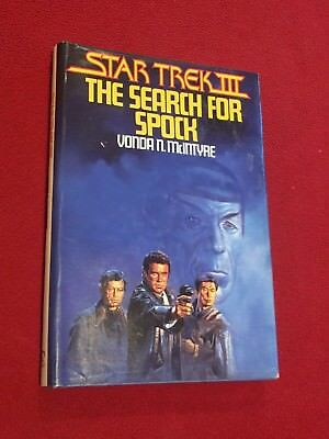Star Trek III The Search For Spock by Vonda McIntyre Hardback Book Club Ed 1983