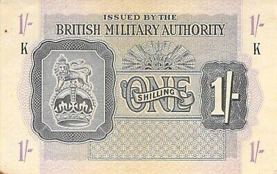 British Military Authority 2 Shillings 6 Pence Pick# M3 Fine Must See! 1943 Nd