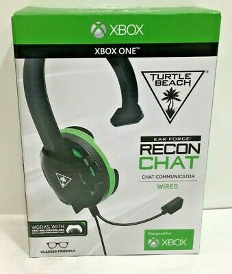 Turtle Beach Recon Chat Gaming Headset for Xbox One, Xbox One S and X New in box