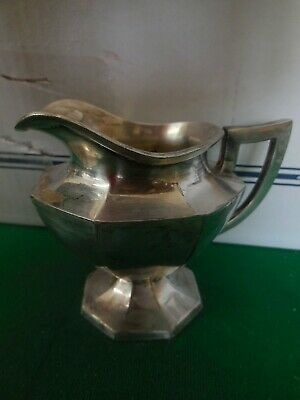 Silver Plate Wilcox Sp Co Internationals N 1951 Is Footed Creamer Pitcher