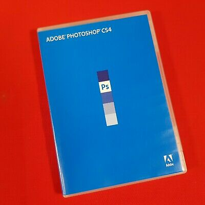 Adobe Photoshop CS4. 64/32 bit DVDs for WIndows. Includes Serial