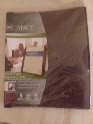 GBC SLIDE 'N Bind Report Cover Letter Size Clear 10/Box 67504