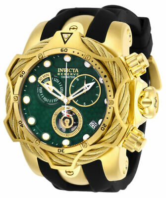 Invicta Men's 27706 Reserve Quartz Chronograph Green Dial Watch