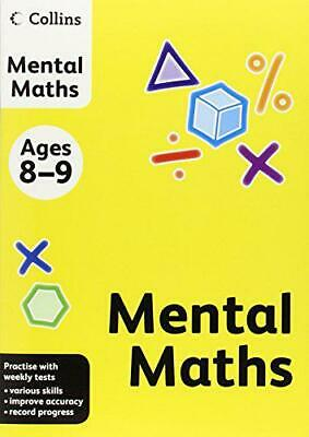 Collins Practice - Collins Mental Maths: Ages 8-9 by , NEW Book, FREE & Fast Del