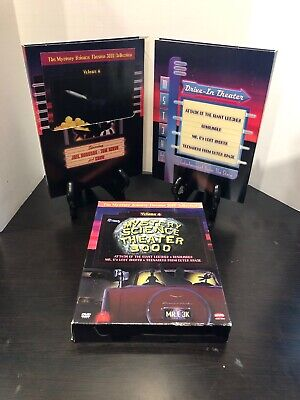 Mystery Science Theater 3000 Collection Volume 6 (DVD 4-Disc Set) Rare Oop