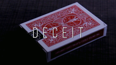 DECEIT By Sid T (Gimmick+online Instruct) Card Magic Tricks,Close Up,illusions