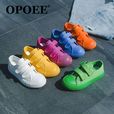 Boys Girls Canvas Shoes Childrens Casual Pumps Plimsolls Sneakers Trainers
