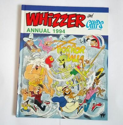 Whizzer and Chips Comic Annual 1994 Collectable Hardcover Book Brand New *