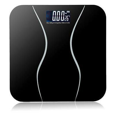 400lb LCD Digital Bathroom Body Weight Scale Tempered Glass Auto Switch 180kg
