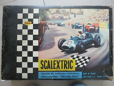 ScalextricBoite Circuit Ancienne Course Jouet Voiture 24 hCtsrQd