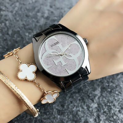 2019 Hot New Woman Stainless steel Fashion Wristwatch Colored Bear Watch