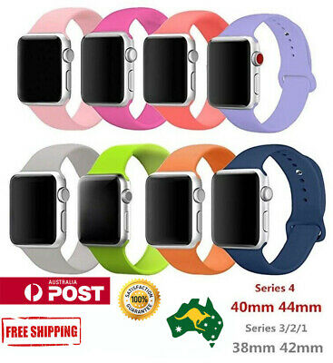 Sports Replacement  Silicone Bracelet wrist band F Apple Watch Series 4 3 2 1 -