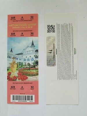 Kentucky Derby Ticket 2019 (unused) THE MOST CONTROVERSAIL DERBY EVER!!!