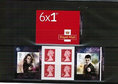 Great Britain 2018 Harry Potter PM Retail Stamp Booklet @ Face Value