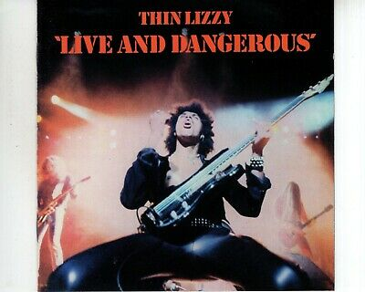 CD THIN LIZZY	live and dangerous	DIGITALLY REMASTERED EX- (A3699)