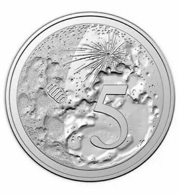 AUSTRALIA 2019 5 cent Uncirculated 50th Anniversary Moon Landing Ex Set