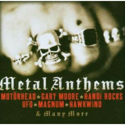 METAL ANTHEMS Various Artists CD Europe Metro 16 Track (Metrcd171)
